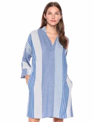 Nic+Zoe Women's Plus Size Fiji Linen Dress