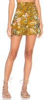 Zimmermann Tropicale Flutter Shorts