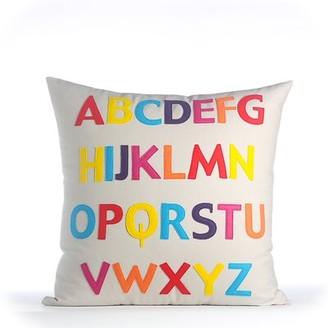 Alexandra Ferguson Play Room ABC Eco-Throw Pillow