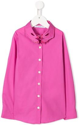 Vivetta Kids hands-collar shirt