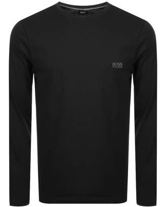 HUGO BOSS Boss Business Crew Neck Long Sleeve T Shirt Black