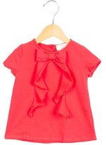 Kate Spade Girls' Bow-Accented Top
