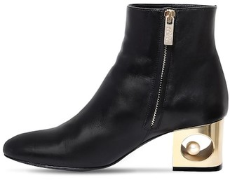 Coliac 55mm Tiffany Leather Ankle Boots