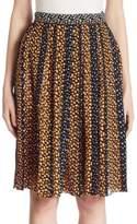 Proenza Schouler Pleated Silk Skirt