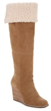 Lucky Brand Ysabel Wedge Boot