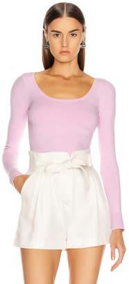JoosTricot Scoop Neck Sweater in Wild Rose | FWRD