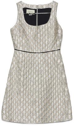 Gucci All Over Logo Jacquard Dress