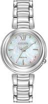 Citizen Mother-of-Pearl & Silver Eco-Drive Sunrise Bracelet Watch