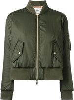Blugirl cropped bomber jacket