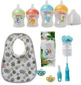 Nuby Natural Touch Bottle Feeding 10-Piece Kit