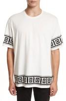 Versace Men's Relaxed Fit Frame Print T-Shirt