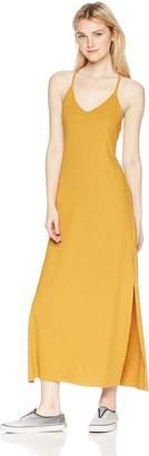 LIRA Women's Ashlynn Ribbed Maxi Dress