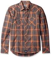 Wrangler Men's Rock 47 Two Pocket Snap Front Long Sleeve Shirt