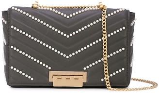 Zac Posen Earthette embellished jumbo shoulder bag