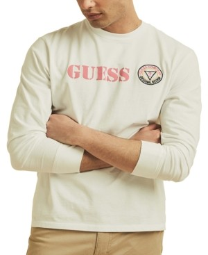 GuessBusy Guessing Long-Sleeve T-ShirtGold