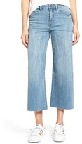 BP Women's High Waist Wide Leg Crop Jeans