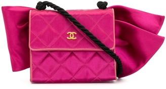 Chanel Pre Owned Mini Bow Motif Shoulder Bag