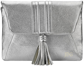 GiGi New York Ava Metallic Clutch Bag