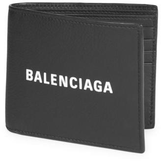 Balenciaga Leather Logo Wallet