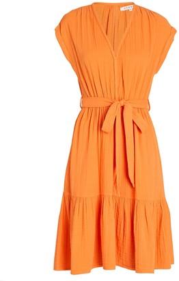 XiRENA Maren Belted Cotton Gauze Dress