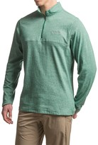 Columbia Alpine Thistle Shirt - Zip Neck, Long Sleeve (For Men)