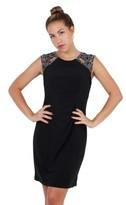 Patra P1283 Embellished Jewel Sheath Dress