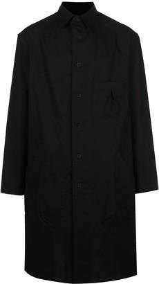 Yohji Yamamoto Big Out longline shirt