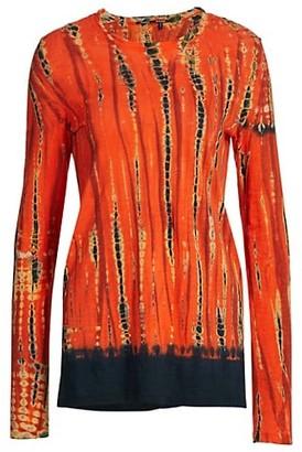 Proenza Schouler Tie-Dye Tissue Shirt