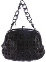 Thomas Wylde Skull-Embellished Leather Handle Bag