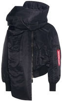 Balenciaga Asymmetrical Padded Bomber Jacket