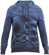Missoni Zip-up hooded knit sweater