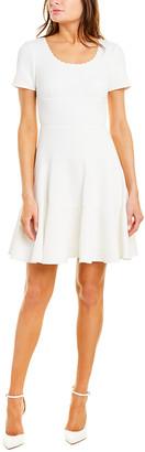 Rebecca Taylor Textured A-Line Dress