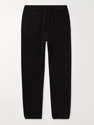 The Row Felix Slim-Fit Cashmere Sweatpants - Men - Black