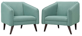 Modway Slide Armchairs (Set of 2)