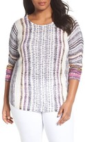 Nic+Zoe Plus Size Women's Bright Beat Sweater