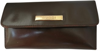 Gucci Brown Leather Purses, wallets & cases