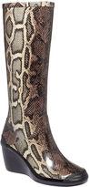 Cougar Women's Shoes, Echo Tall Wedge Rain Boots