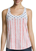 Arizona Easy Racerback Tank Top - Juniors