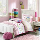 Mizone Kids Spring Bloom 3 Piece Comforter Set, Multicolor, Twin