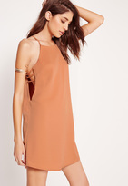 Missguided Open Side Dress Nude