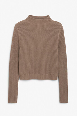 Monki Low turtleneck knit