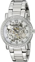Stuhrling Original Women's 531L.11112 Classic Delphi Canterbury Automatic Skeleton Swarovski Crystal Accented Dial Watch