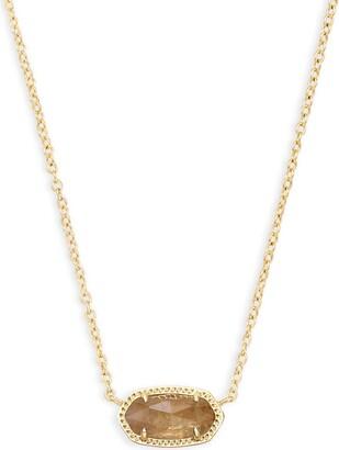 Kendra Scott Elisa Pendant Necklace for Women Fashion Jewelry 14k Gold-Plated