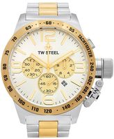 TW Steel Men's Canteen Two Tone Stainless Steel Chronograph Watch - CB34