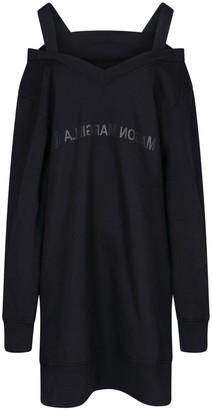 MM6 MAISON MARGIELA Cold-Shoulder Sweater Dress