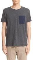 ATM Anthony Thomas Melillo Men's T-Shirt With Silk Pocket