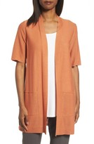 Eileen Fisher Women's Simple Tencel & Merino Wool Cardigan