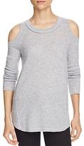 Aqua Cashmere Cold Shoulder Cashmere Sweater - 100% Exclusive