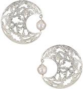 Christie Nicolaides Angela Earrings in Silver | FWRD