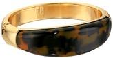 Robert Lee Morris Tortoise Hinge Bangle Bracelet